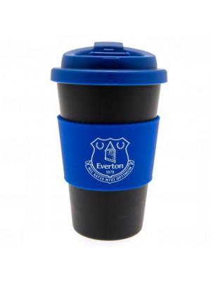 Everton FC Silicone Grip Travel Mug