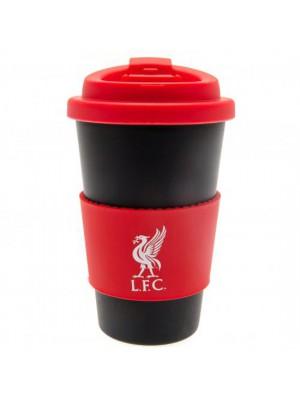 Liverpool FC Silicone Grip Travel Mug
