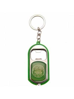 Celtic FC Key Ring Torch Bottle Opener