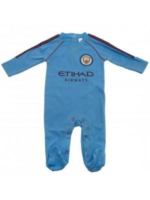 Manchester City FC Sleepsuit 6/9 Months PL