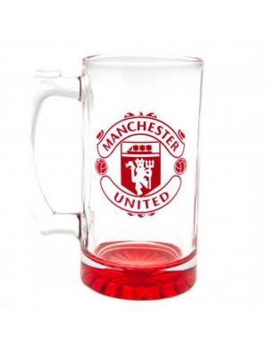 Manchester United FC Stein Glass Tankard CC