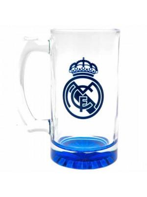 Real Madrid FC Stein Glass Tankard CC
