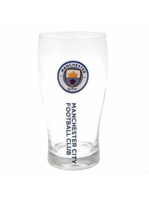 Manchester City FC Tulip Pint Glass