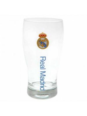 Real Madrid FC Tulip Pint Glass