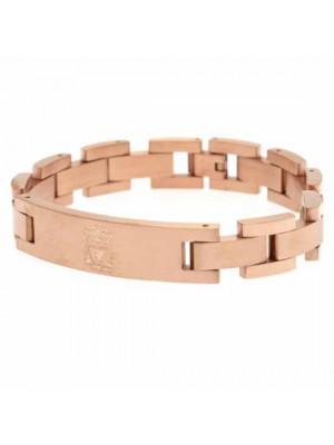 Liverpool FC Rose Gold Plated Bracelet