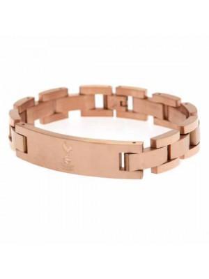 Tottenham Hotspur FC Rose Gold Plated Bracelet