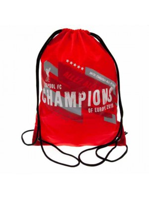 Liverpool FC Champions of Europe Gym Bag