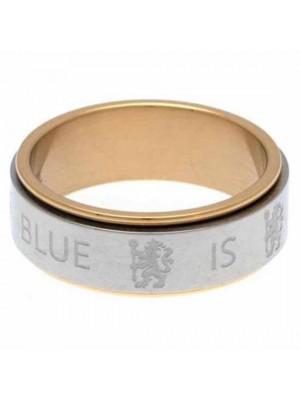 Chelsea FC Bi Colour Spinner Ring XXX-Large