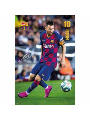 FC Barcelona Poster Messi 1