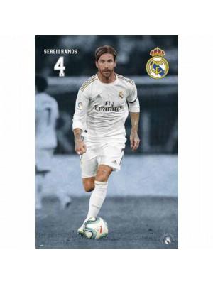 Real Madrid FC Poster Ramos 23