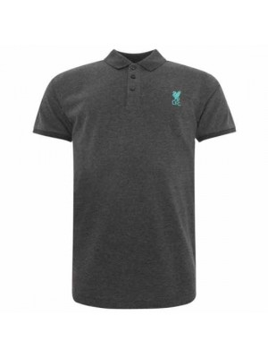 Liverpool FC Conninsby Polo Shirt Mens Charcoal S