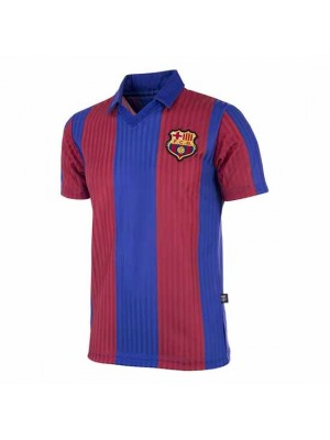 FC Barcelona 1990 - 91 Retro Football Shirt