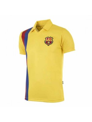 FC Barcelona 1981 - 82 Away Retro Football Shirt
