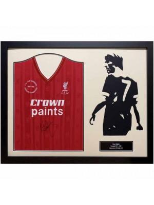 Liverpool FC Dalglish Signed Shirt Silhouette