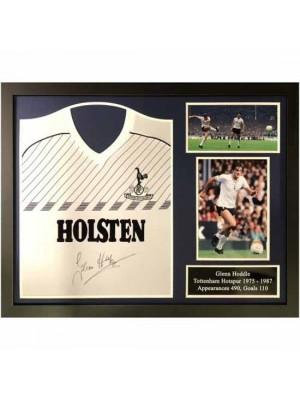 Tottenham Hotspur FC Hoddle Signed Shirt Framed