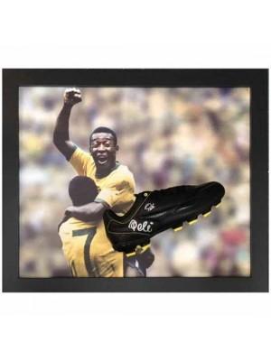 Brasil Pele Signed Boot Framed