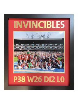 Arsenal FC 2004 Invincibles Signed Framed Print