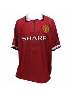Manchester United FC Giggs & Scholes Signed Shirt