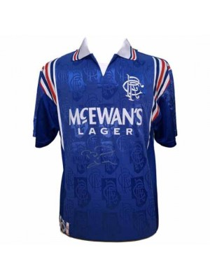 Rangers FC Laudrup Signed Shirt