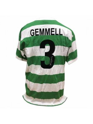 Celtic FC Gemmell Signed Shirt