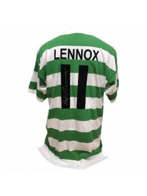 Celtic FC Lennox Signed Shirt