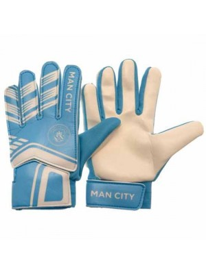 Manchester City FC Goalkeeper Gloves Youths