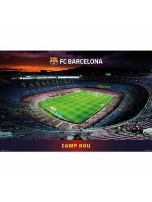 FC Barcelona Poster Stadium 6