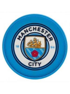 Manchester City FC Silicone Coaster