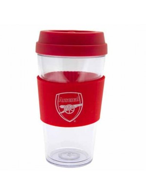 Arsenal FC Clear Grip Travel Mug