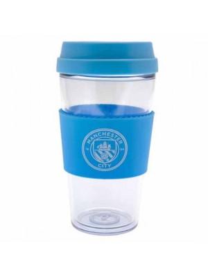 Manchester City FC Clear Grip Travel Mug