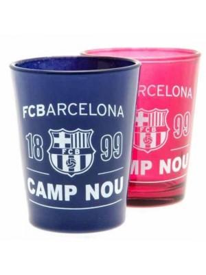 FC Barcelona 2 Pack Shot Glass Set