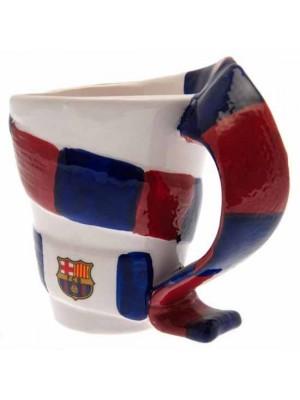 FC Barcelona 3D Scarf Mug