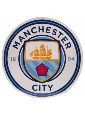 Manchester City FC Big Crest Circular Sticker