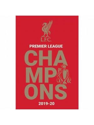 Liverpool FC Premier League Champions Poster 7