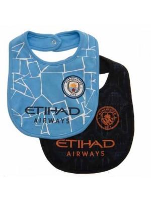 Manchester City FC 2 Pack Bibs