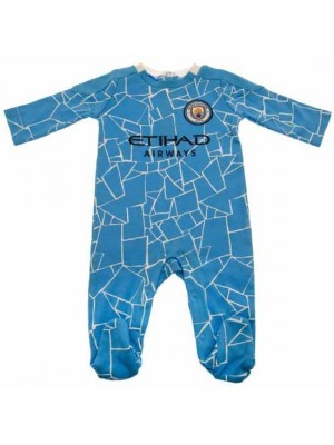 Manchester City FC Sleepsuit 0/3 Months