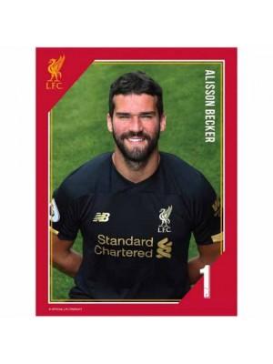 Liverpool FC Headshot Photo Alisson