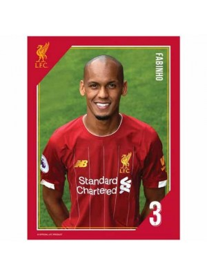 Liverpool FC Headshot Photo Fabinho