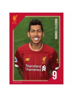 Liverpool FC Headshot Photo Firmino