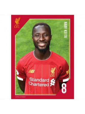 Liverpool FC Headshot Photo Keita