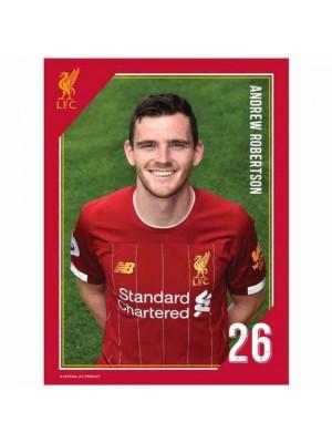 Liverpool FC Headshot Photo Robertson