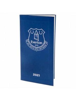 Everton FC Pocket Diary 2021