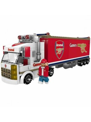 Arsenal FC Brick Fan Truck