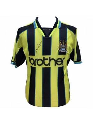 Manchester City FC Dickov Signed Shirt