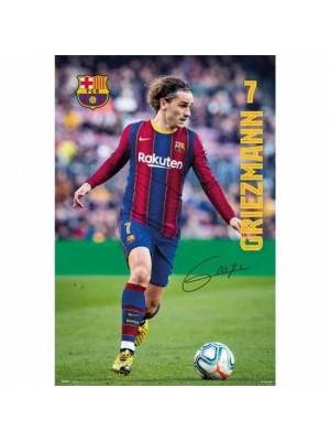FC Barcelona Poster Griezmann 19