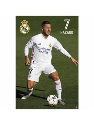 Real Madrid FC Poster Hazard 24