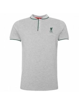 Liverpool FC Birdseye Polo Mens Grey S