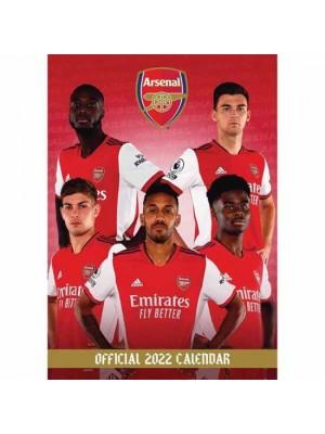 Arsenal FC Calendar 2022