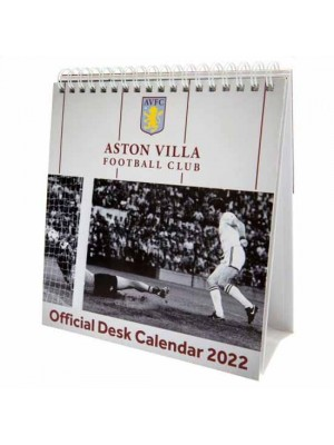 Aston Villa FC Desktop Calendar 2022
