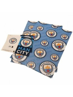 Manchester City FC Gift Wrap